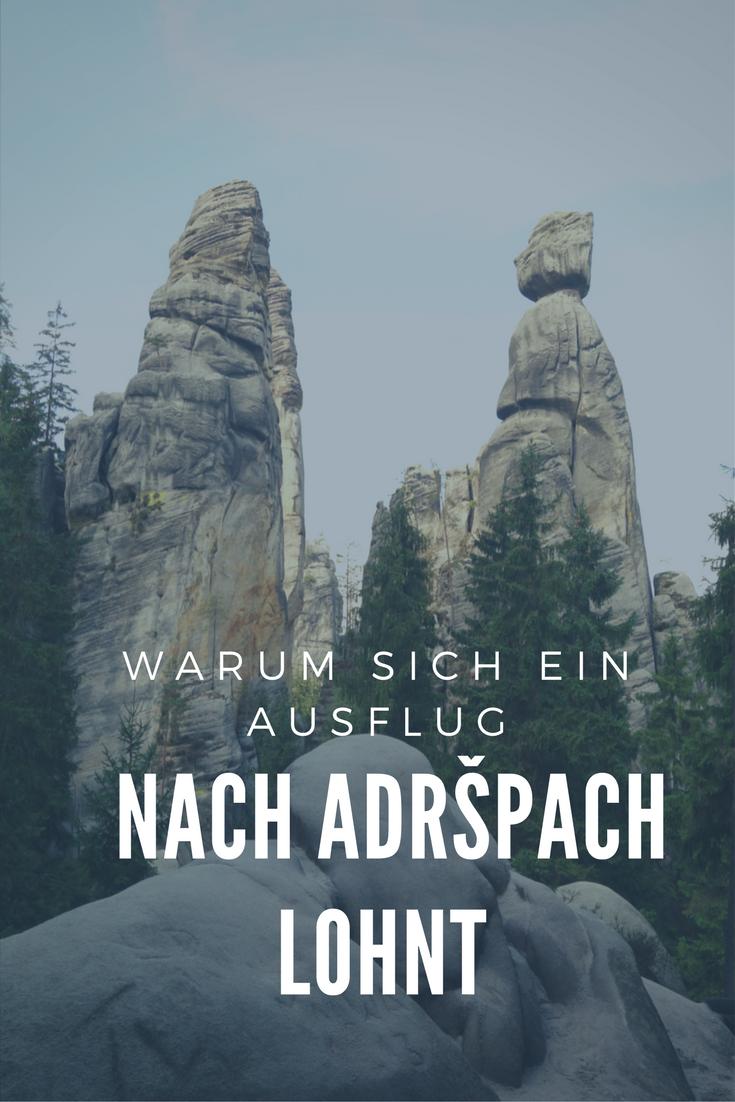 Warum sich ein Ausflug nach Adršpach lohnt