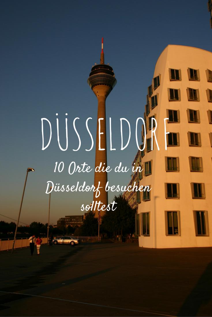 0  Orten, die du auf jeden Fall in Düsseldorf besuchen solltest