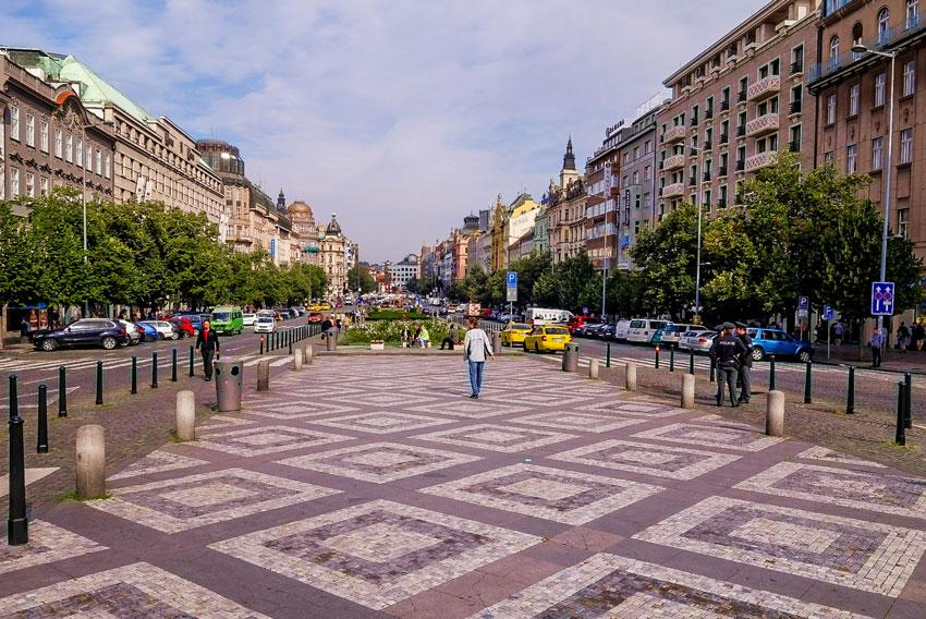 Prag-Wenzelsplatz