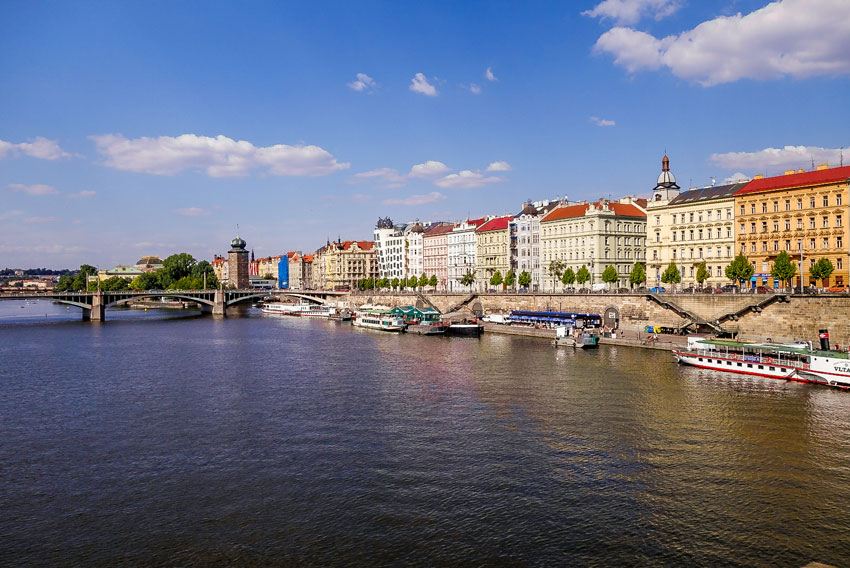 Prag-Moldau