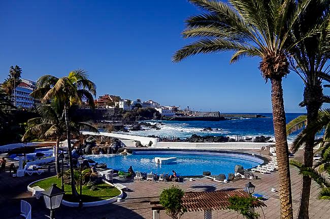 Reizeziele Europa, Spanien, Kanaren, Teneriffa, Puerto de la Cruz, Largo Martinez