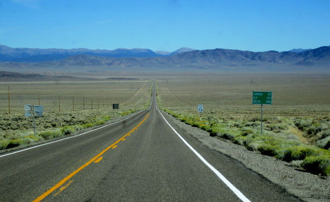 the loneliest road in america