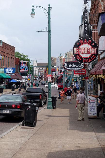 USA, Tennessee, Memphis, Beal Street