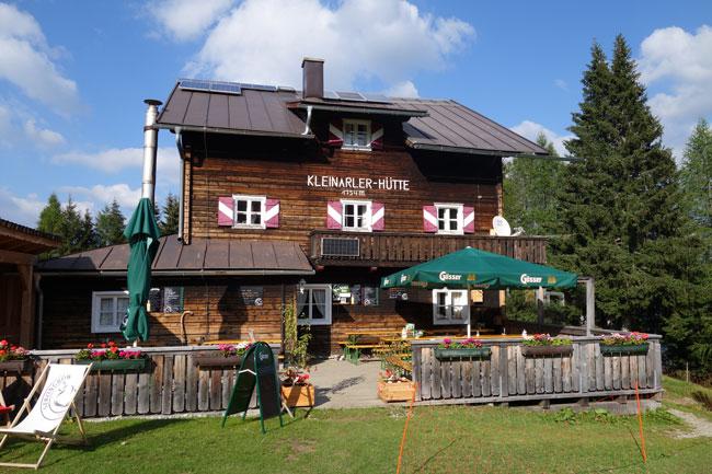 Österreich, Hütte, Hüttengerichte
