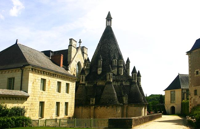 Abtei Fontevrault, Loire, Frankreich