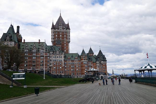 Terrasse Dufferin, Quebec, Kanada