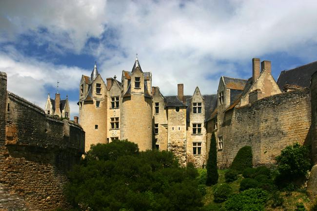 Schloss Montreuil-Bellay, Loire, Frankreich