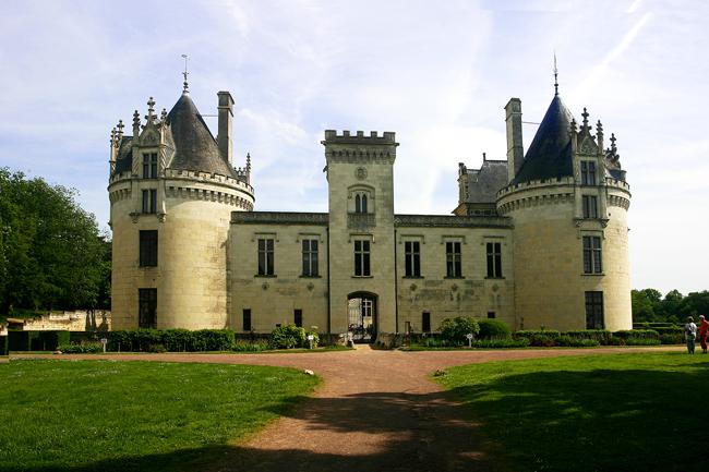 Schloss-Brézé, Loire, Frankreich