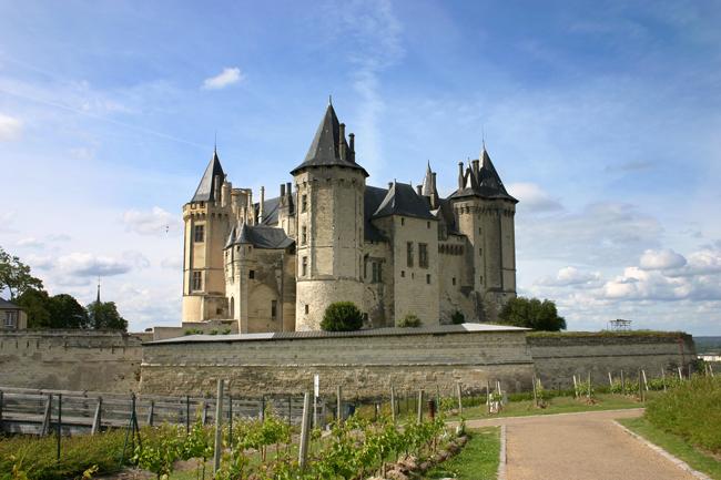 Schloss Saumur, Loire, Frankreich
