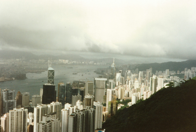 Viktoria Peak, Hongkong, China