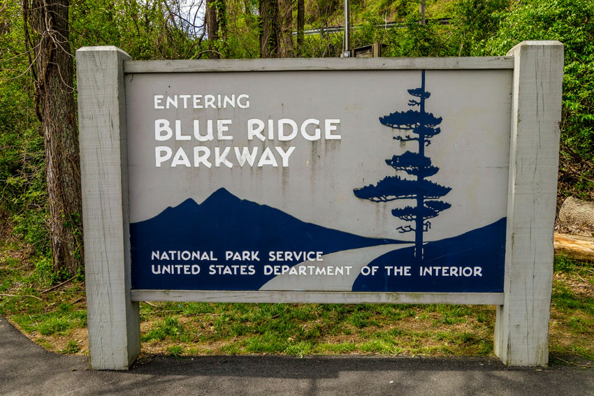 Roadtrip USA und Kanada - Blueridge Parkway