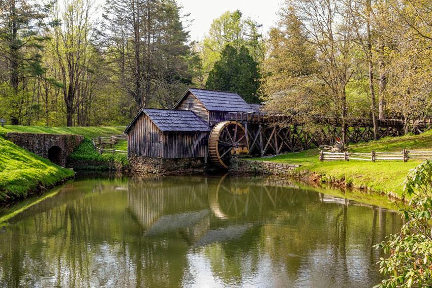 Bluridge Parkway- Mabry Mill