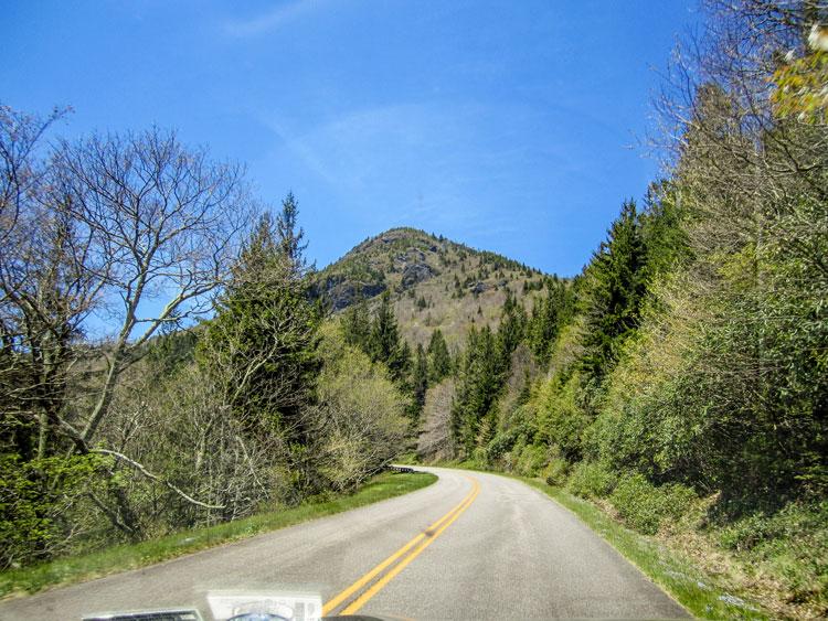 USA und Kanada Roadtrip - Fahrt über den Blueridge Parkway