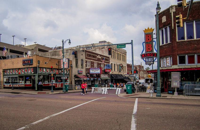 Roadtrip USA und Kanada - Memphis - Beale Street