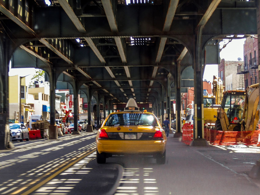 Roadtrip USA und Kanada - New York - Queens - Yellow Cap