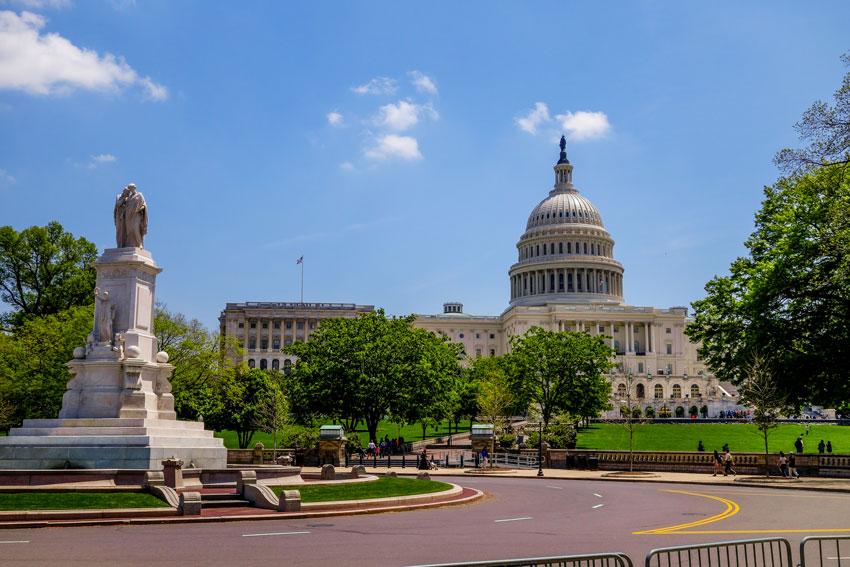 Roadtrip USA und Kanada - Capitol Washingthon D.C.
