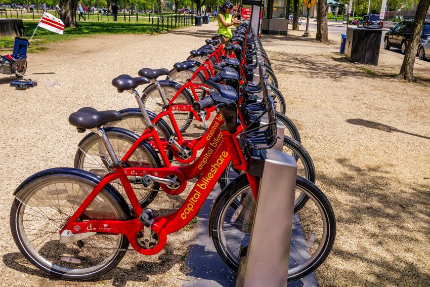 Washingthon D.C. - City Bikes