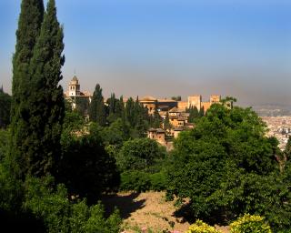 Wie 1000 und eine Nacht – die Alhambra in Granada
