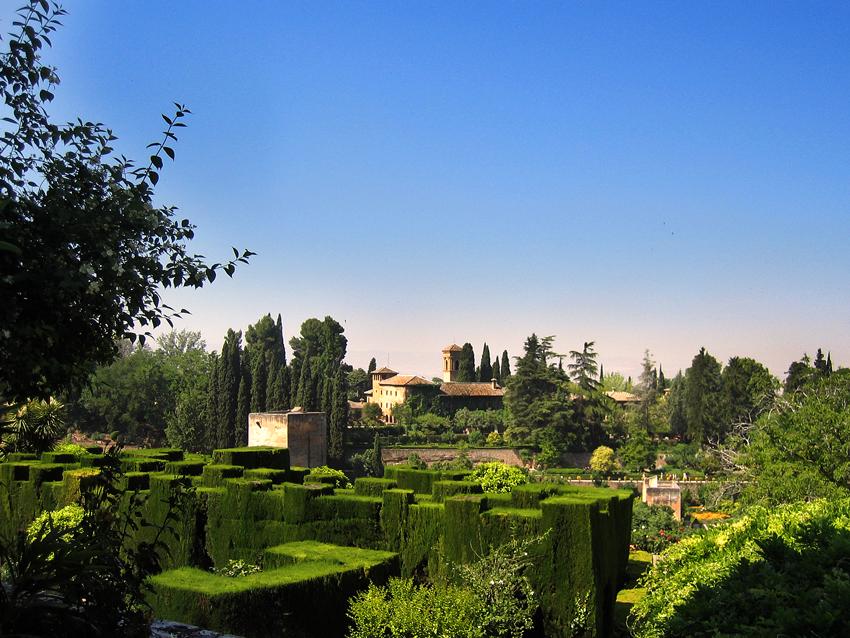 Alhambra Garten des Generalife