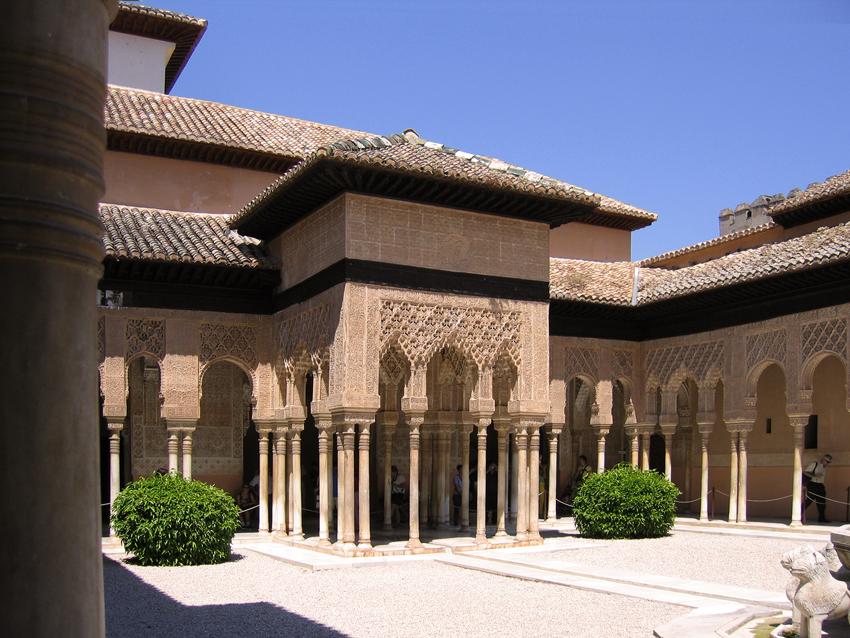 Alhambra Innenhof Nasridenpaläste