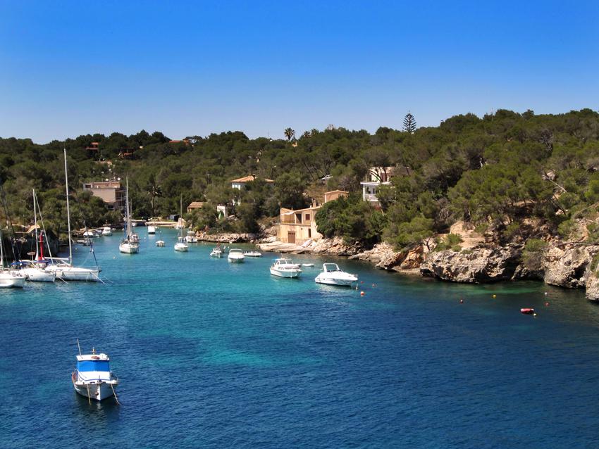 Mallorca Blick auf die Bucht von Cala Figuera