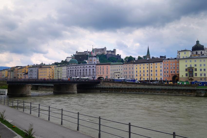 Salzburg Blick auf Salzburg