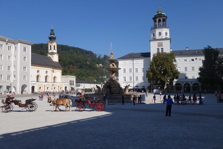 Salzuburg Residenzplatz