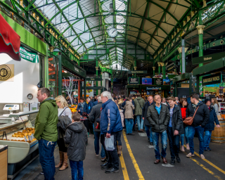 Ansicht Borough Market London