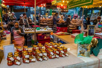Stand auf dem Borough Market London