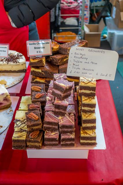 Süßigkeiten auf dem Borough Market London