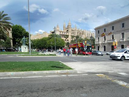 Mallorca, Blick auf die Kathedrale