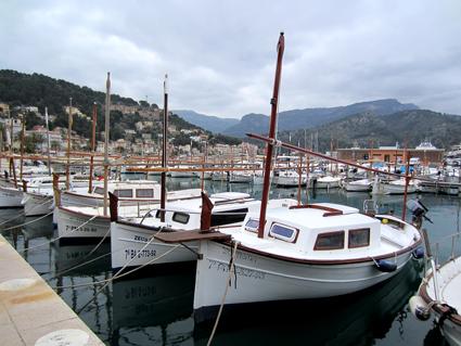 Mallorca, Hafen, Port de Sóller