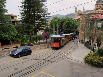 Mallorca, historische Strassenbahn, Soller