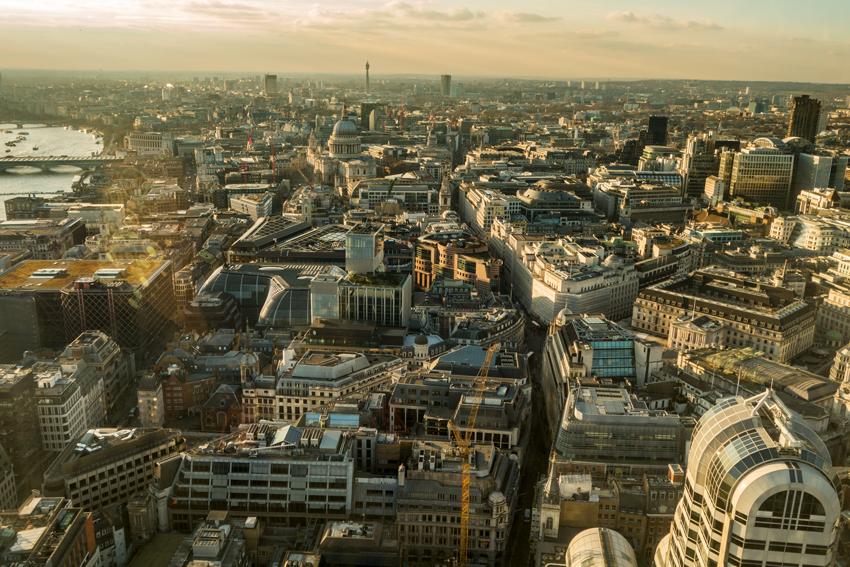 London, Blick vom Skygarden