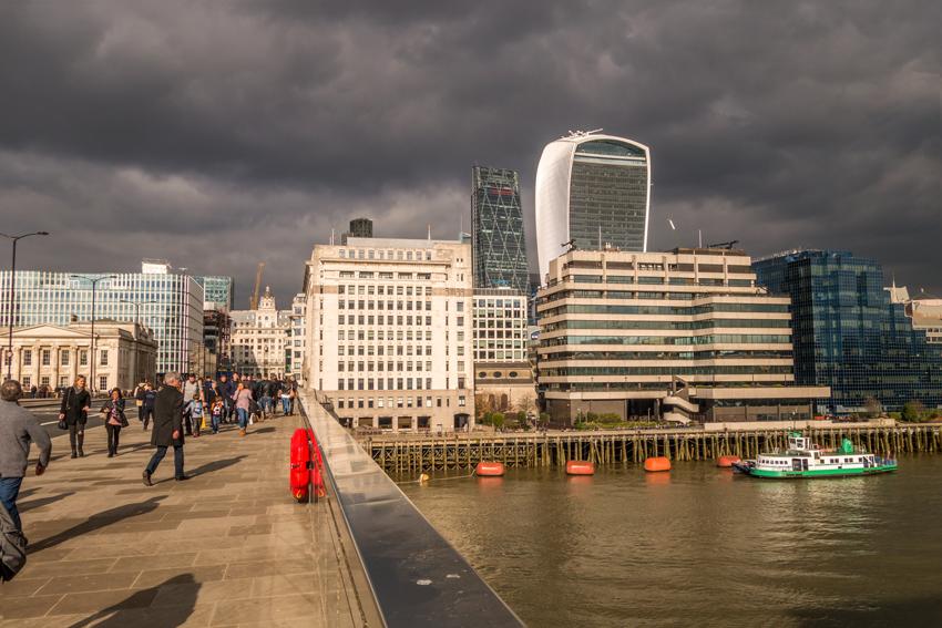Gebäude in welchem sich der Skygarden London befindet