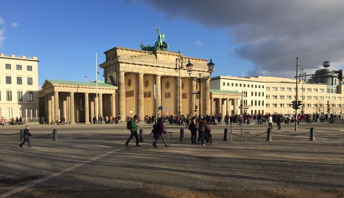 ITB Berlin, Berlin, Brandenburger Tor