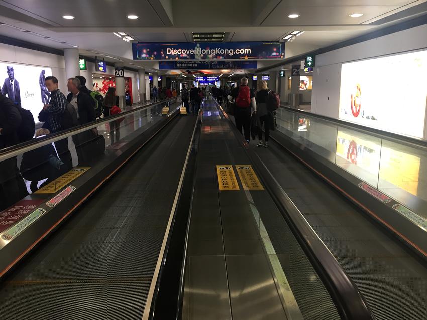 Hongkong - Flughafen