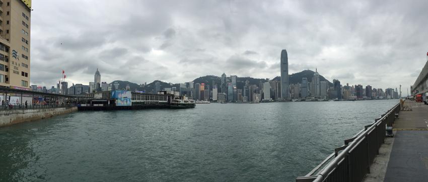 Hongkong - Panorama Skyline Hongkong Island