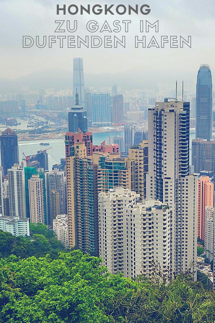 Hongkong ist die glitzernde Metropole an der Südküste Chinas.