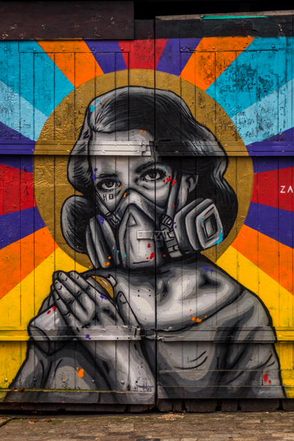 Streetart Londoner East End