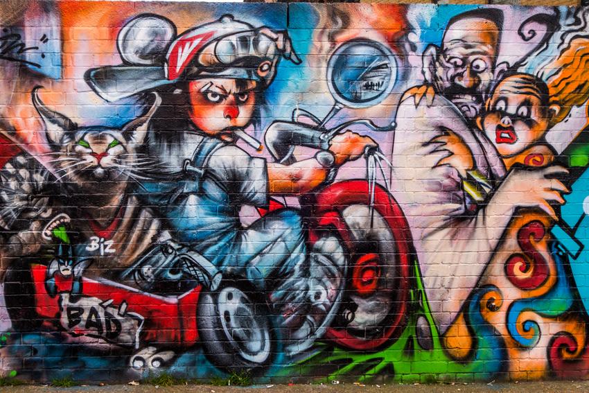Streetart London East End