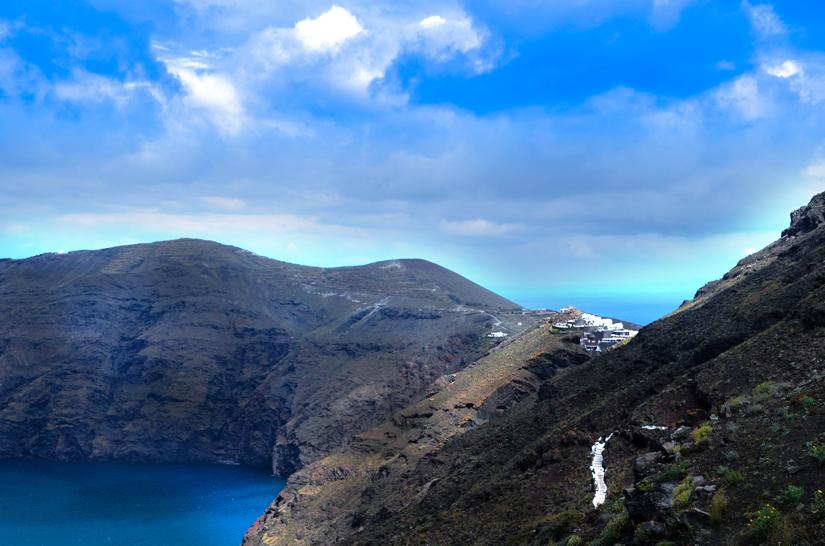 Santorin, Wandern nach Oia