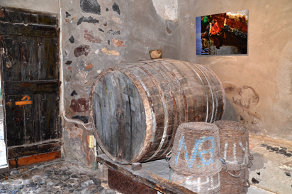Santorin - Weinkellerei