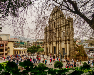Macau - Ruinas de Sao Paulo