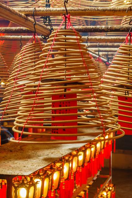 Hongkong - Man Mo Tempel