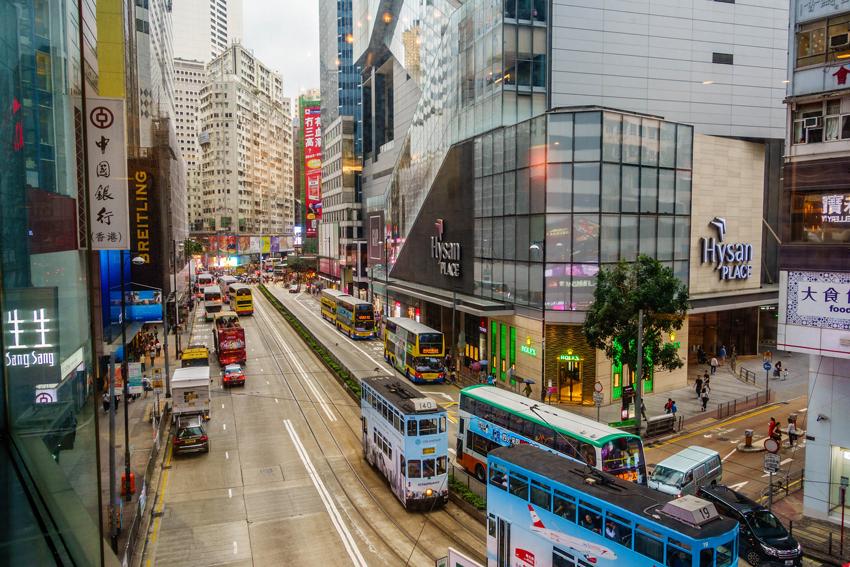 Hongkong - Straßenbahn