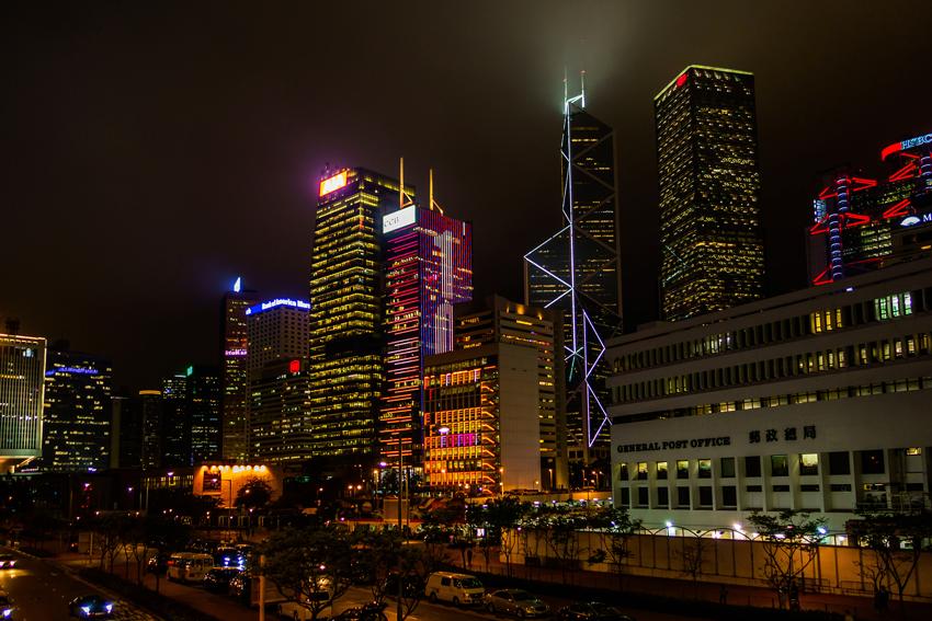 Hongkong - bei Nacht
