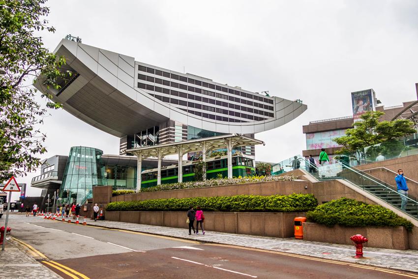 Hongkong -Shopping Center Galleria auf dem Peak