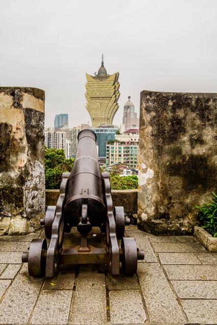 Macau - Fortaleza do Monte