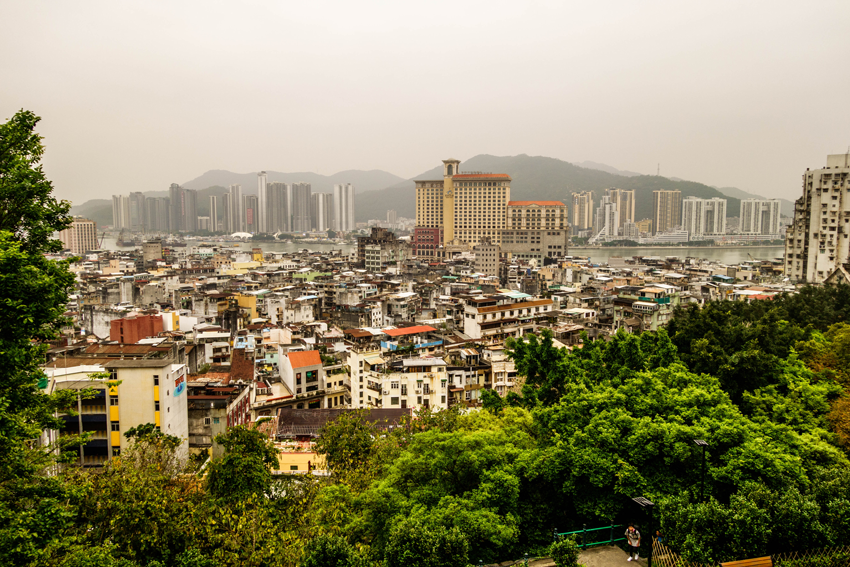 Macau - Blick über die Stadt